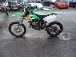 Kawasaki KX125 2004, 2180,- + toim.kulut 50,-