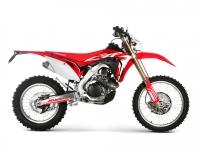 Endurokäyttöön sovitettu moottori, vaihteisto sekä jousitus tekevät Honda CRF450RXE:stä loistavan valinnan myös harrastajalle. Crossimallista RXE –malli poikkeaa myös isomman polttoainetankin ja vakiona olevan sähköstartin osalta. Italialaisen Red Moton toimesta asennetut katsastusvarusteet mahdollistavat, että CRF450RXE on rekisteröitävissä katuliikenteeseen.
